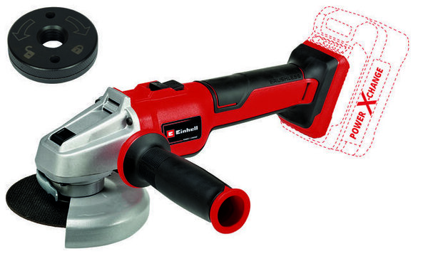 Einhell Аакумулаторен ъглошлайф AXXIO 18/115 Q - SOLO Power X-Change (4431150)