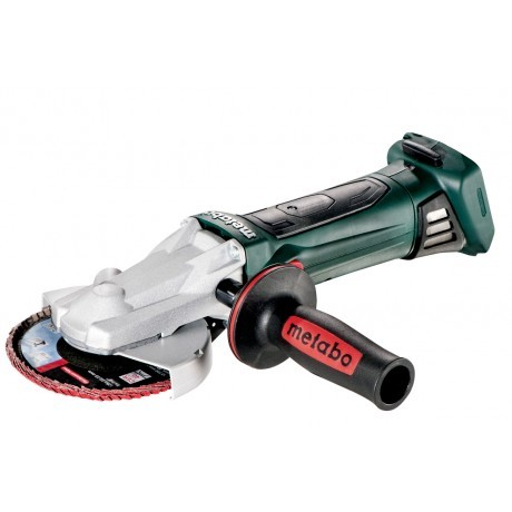 Ъглошлайф акум. с плоска глава 125mm METABO WF 18 LTX 125 QUICK SOLO