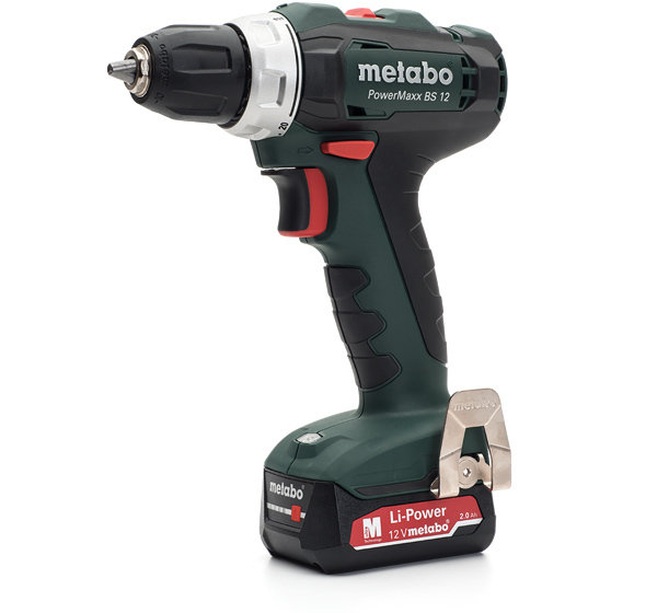 METABO Винтоверт акум. 12V 40Nm POWERMAXX BS 12 2x2Ah